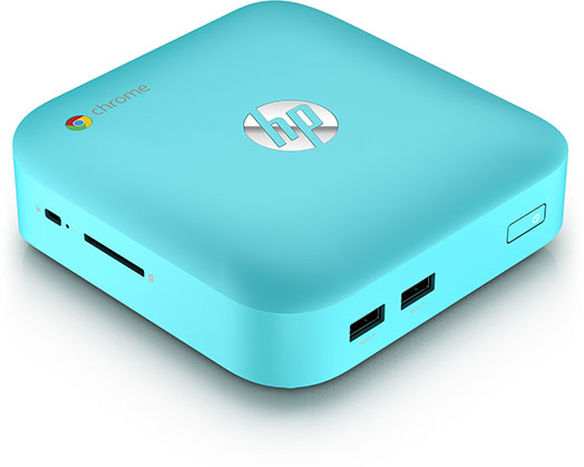 HP chromebox turquoise