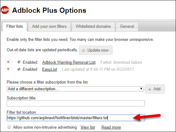adblock-plus-add-filters-list