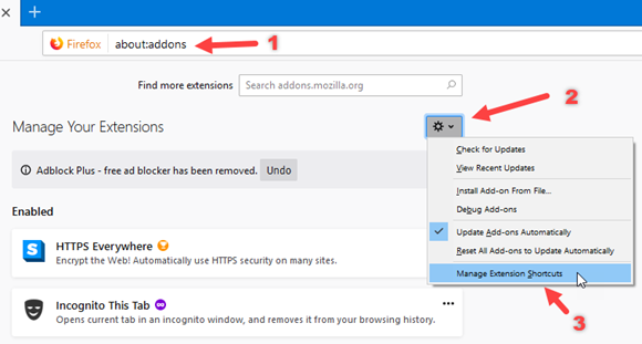 change-firefox-extensions-keyboard-shortcuts-command
