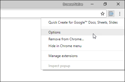 chrome-extension-options-quick-create