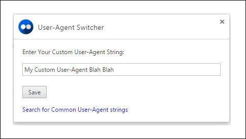 custom-user-agent