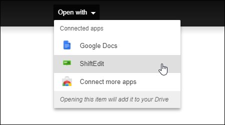 google drive connected apps