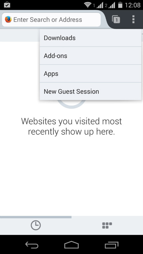 guest mode browser