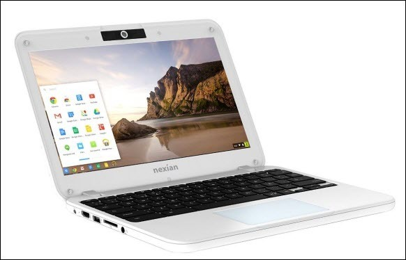 nexian chromebook air cb-116