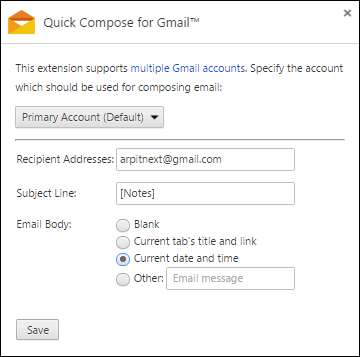 quick-compose-gmail-settings