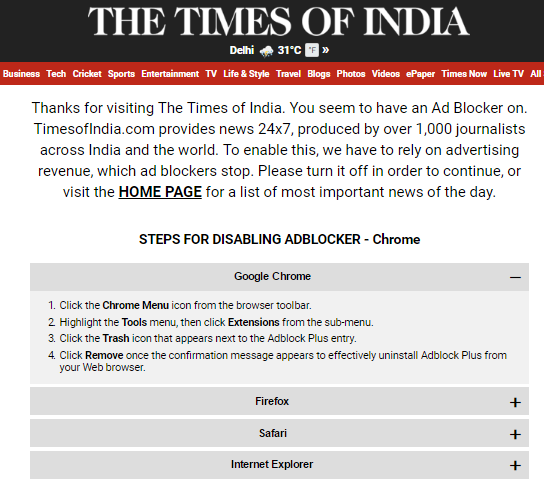 times-of-india-adblock